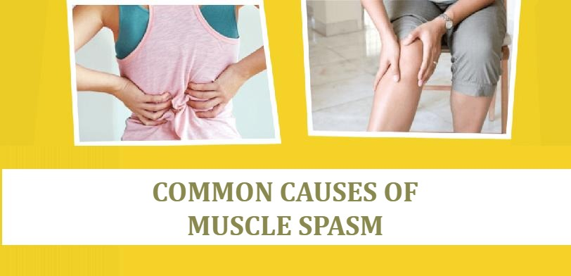 common causes of muscle spasm