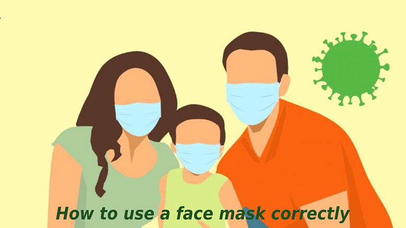 How to Use a Face Mask Correctly